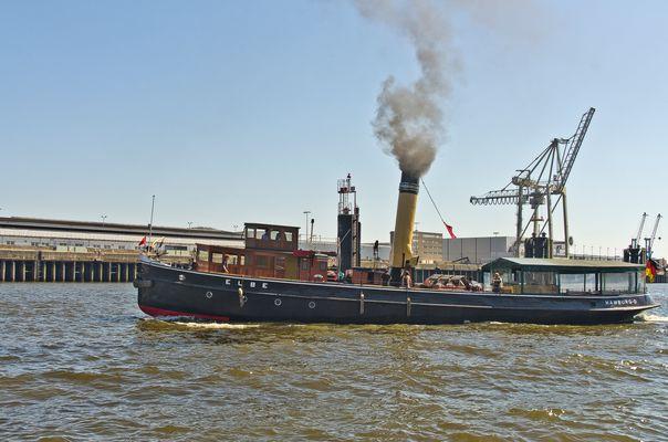 """Dampfschiff-Eisbrecher """"Elbe"""""""