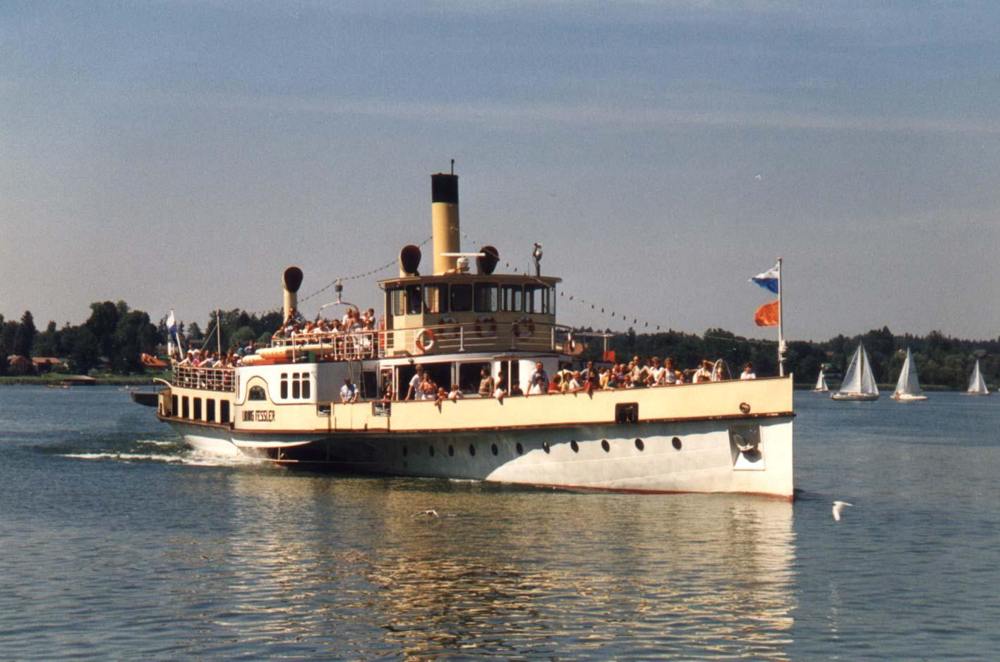 Dampfschiff Ludwig Fessler