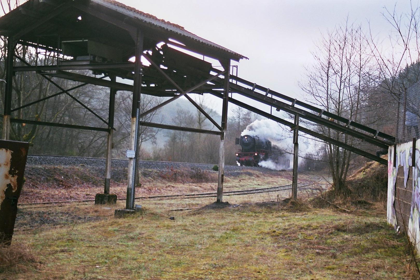 Dampfspektakel 2010 23 042 am Steinbruch