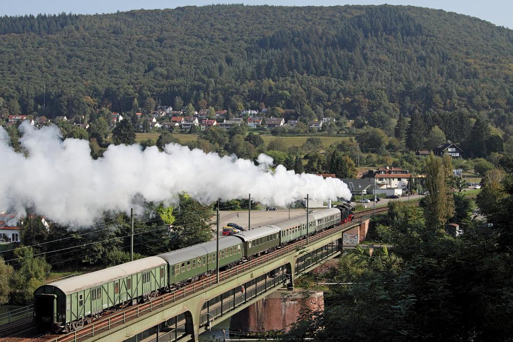 Dampfzug ins Neckartal...