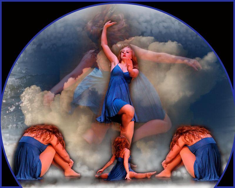 Dancer in a globe
