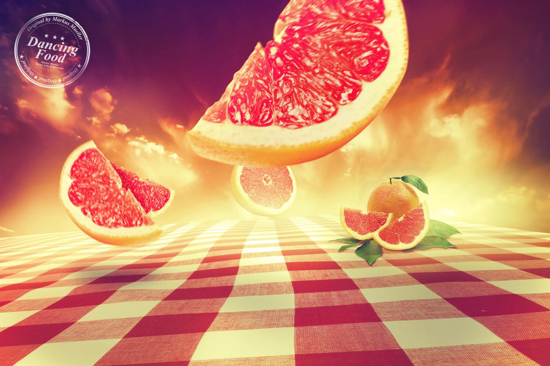 Dancing Food - Grapefruit