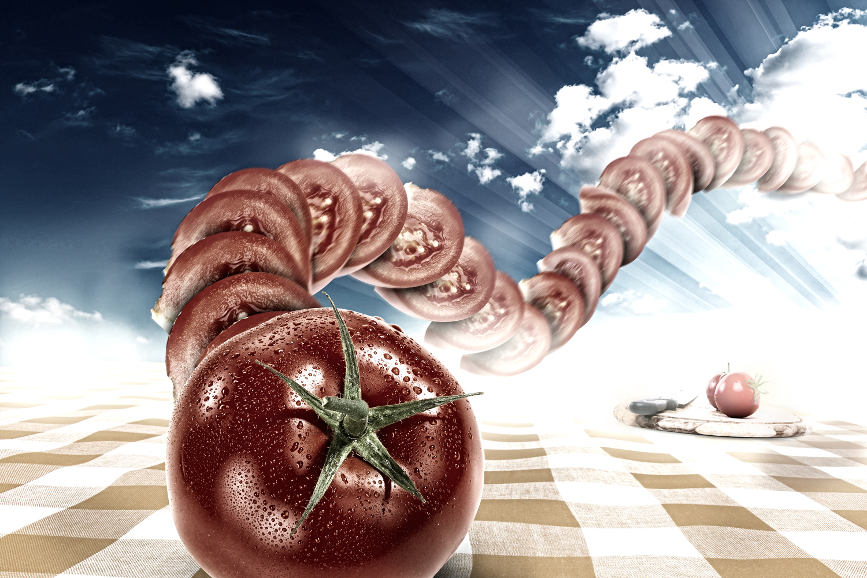 Dancing Food - Tomato