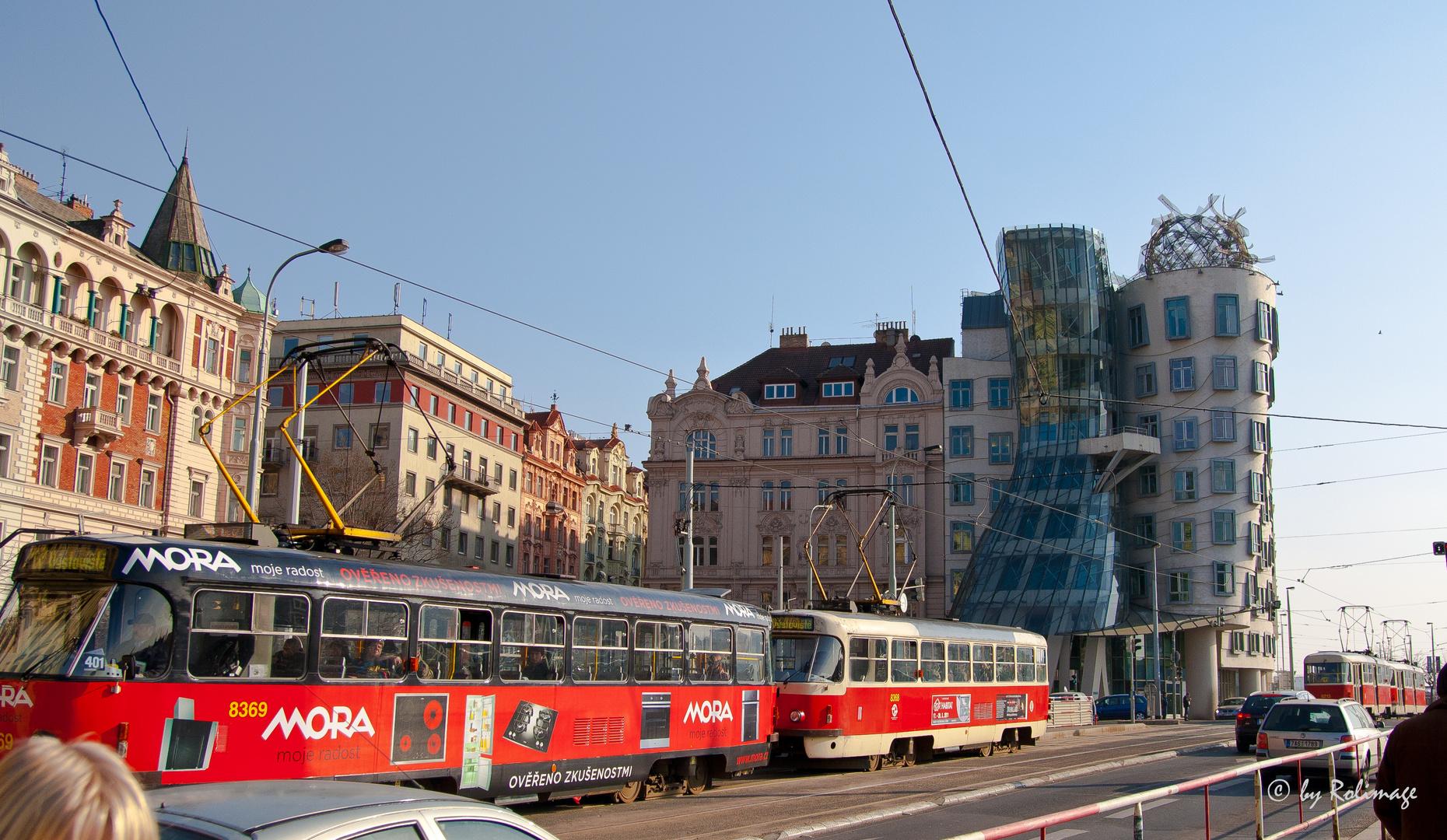 """Dancing House"" Prag"
