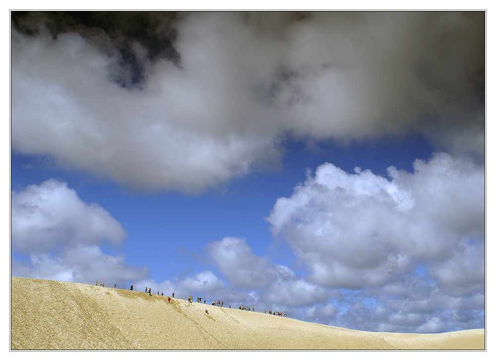 dancing on a dune