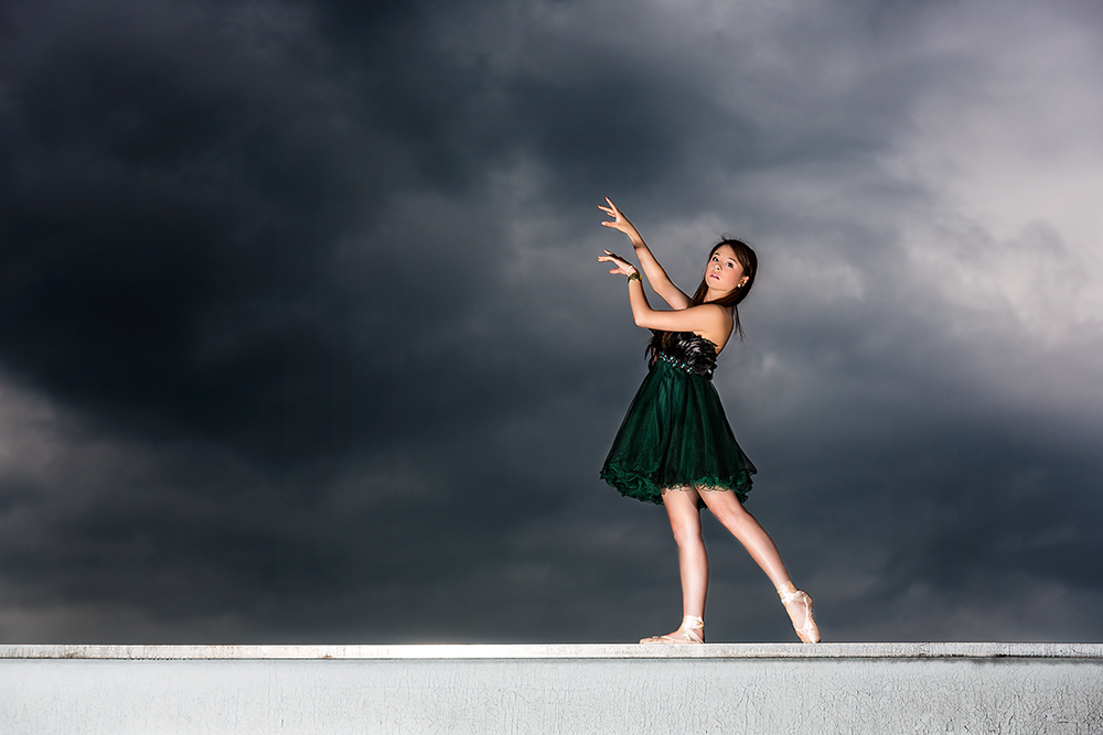 dancing on the roof ...