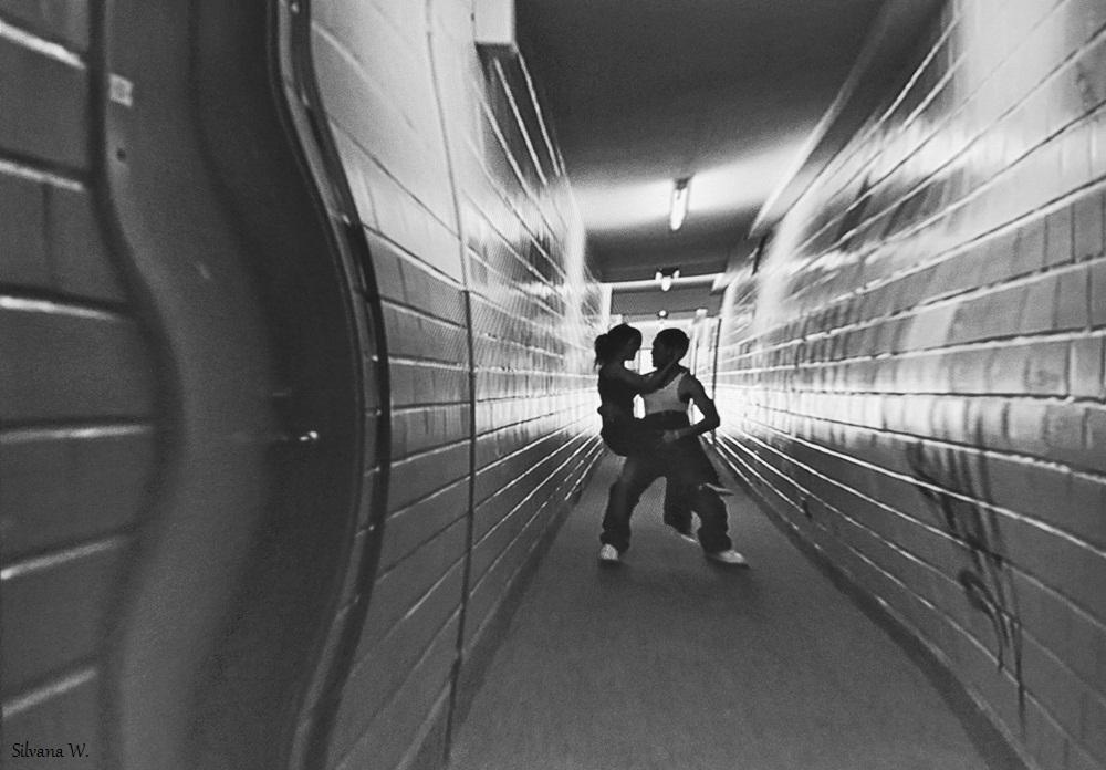 Dancing underground