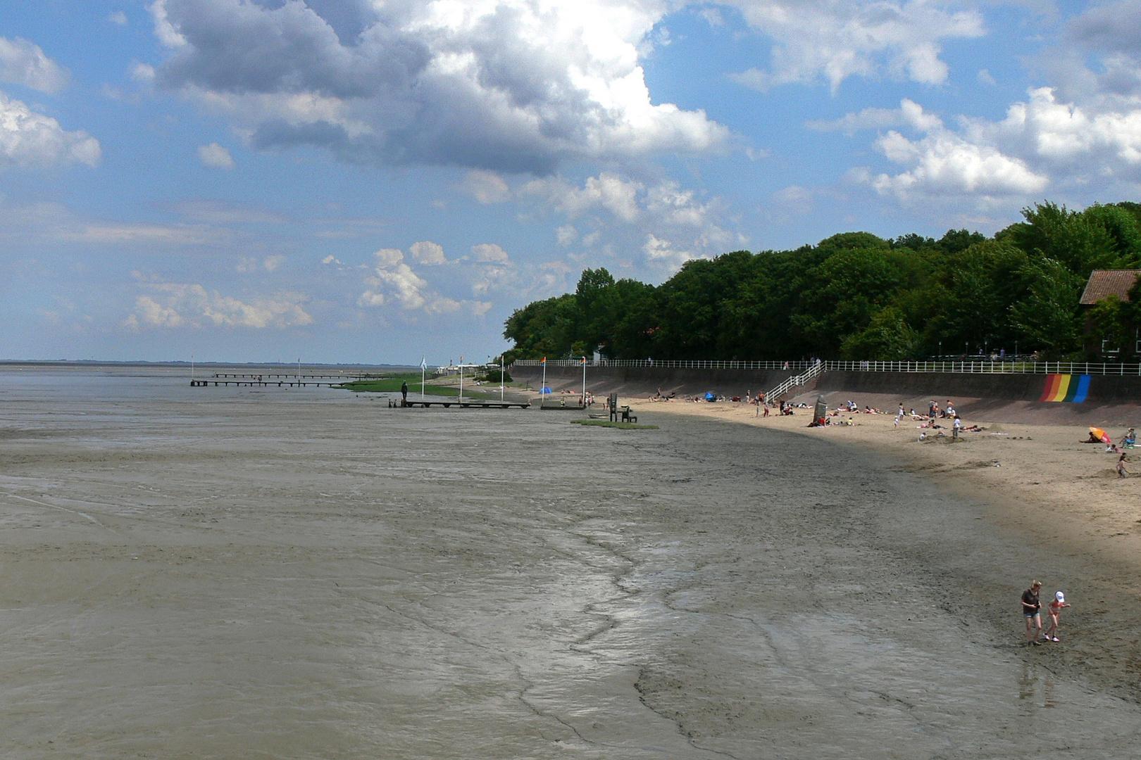 Dangast, Strand