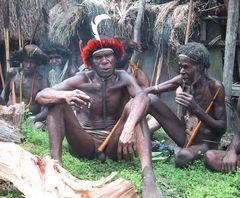 Dani-Männer Irian Jaya