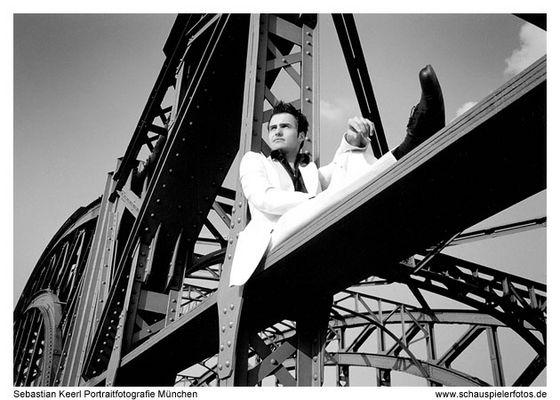 Daniel auf der Hackerbrücke