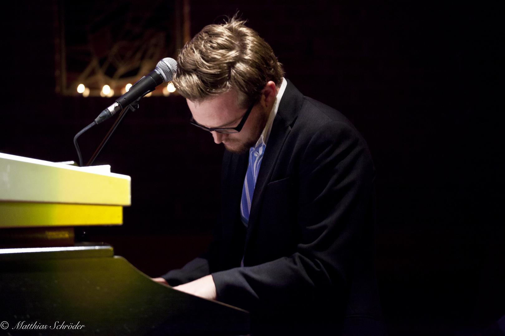 Daniel John Riedl - playing the piano