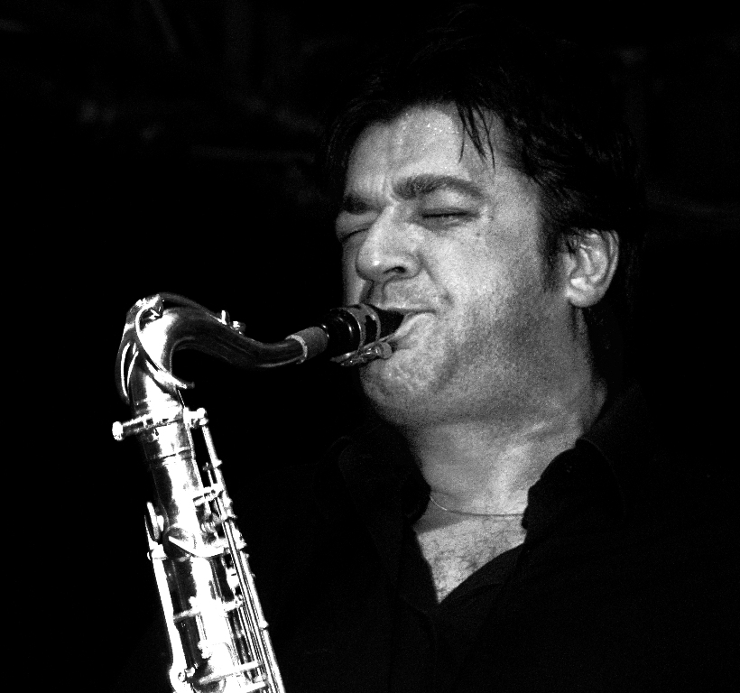 Daniele Scannapieco au saxòphone