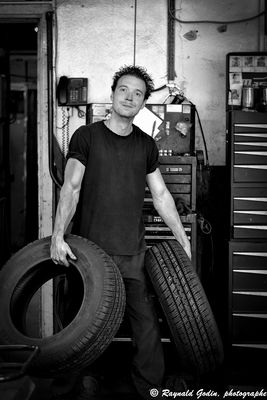 Danny et ses pneus