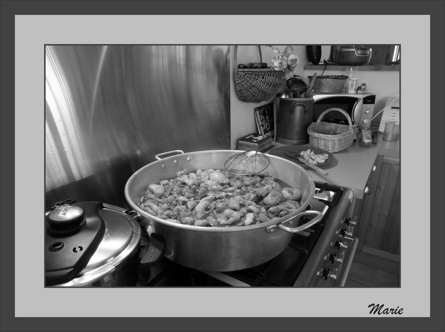 Dans la cuisine de Pat