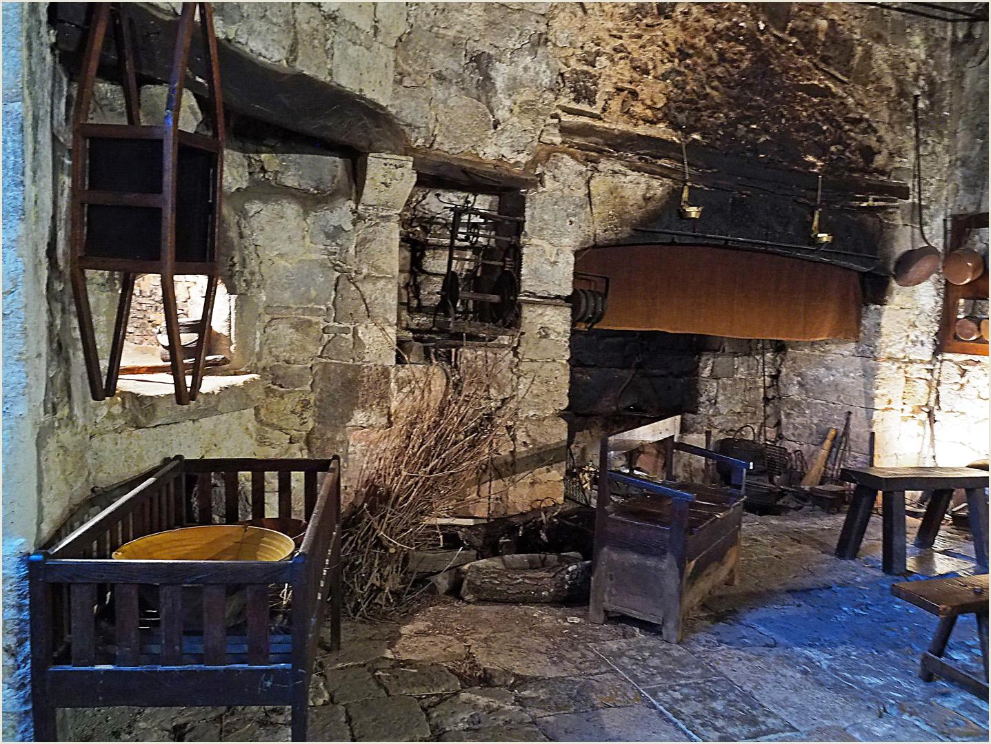 Dans la cuisine du Château de Cassaigne