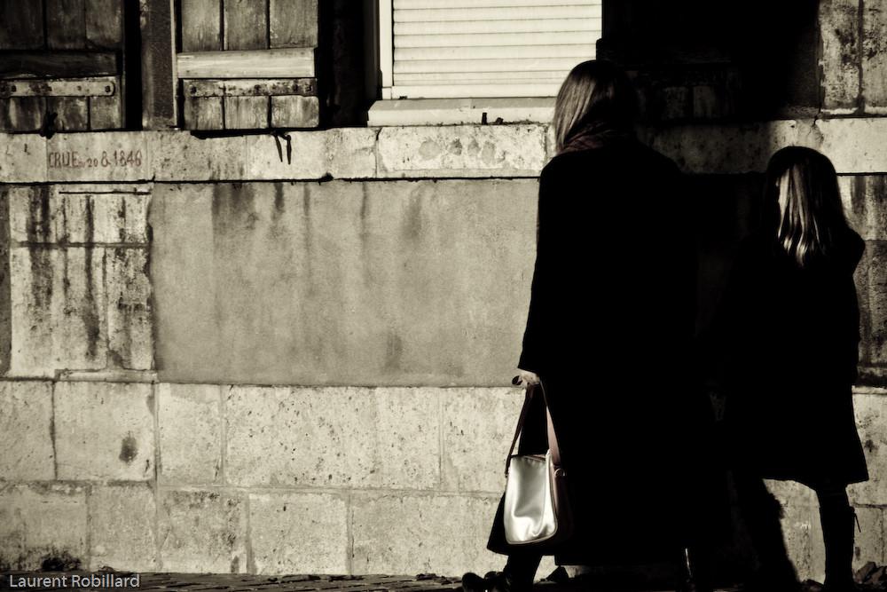 dans la rue
