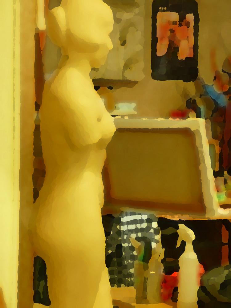 """""""Dans l'atelier du peintre"""""""