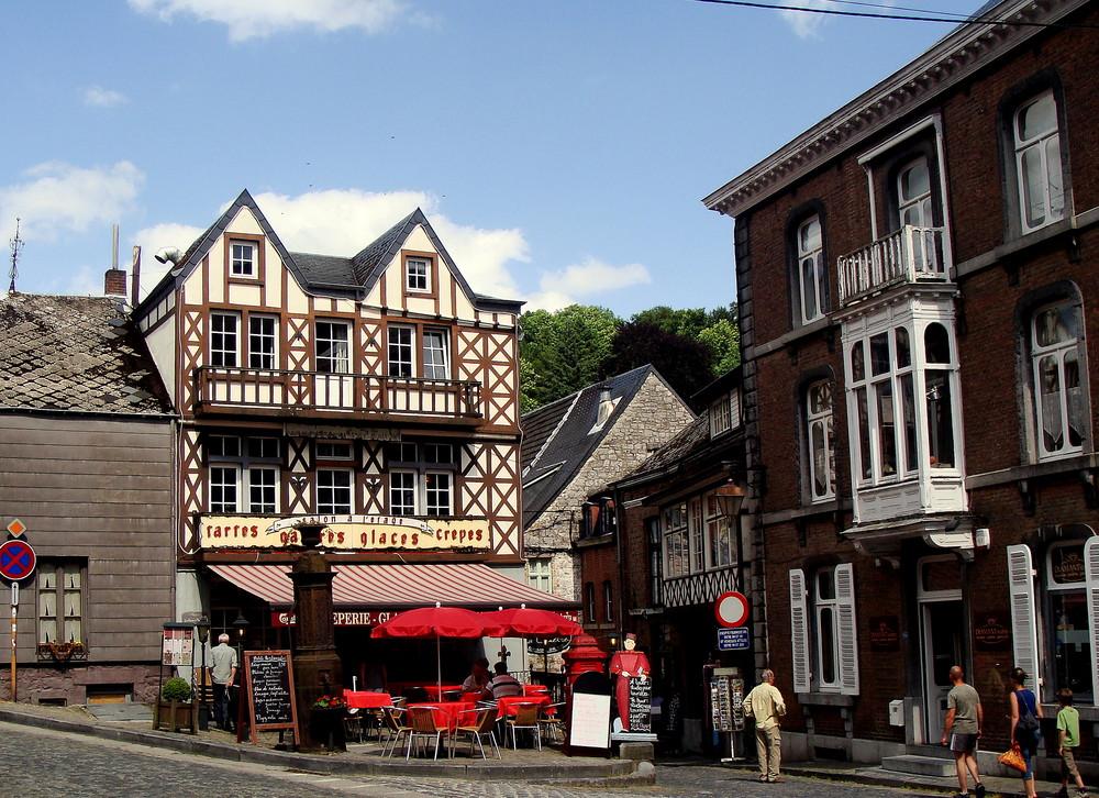 Dans le Ardennes belges, Ville Durbuy..02