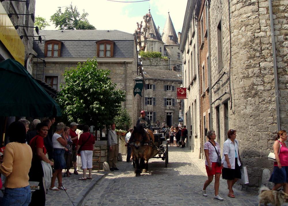 Dans le Ardennes belges, Ville Durbuy..04