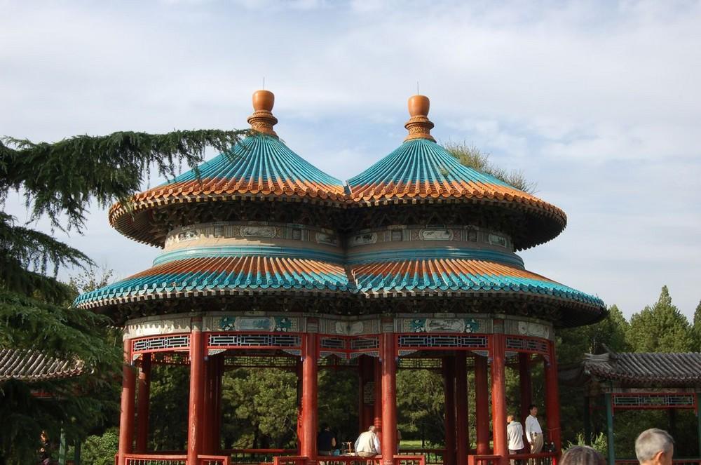 Dans le Jardin du Temple du Ciel