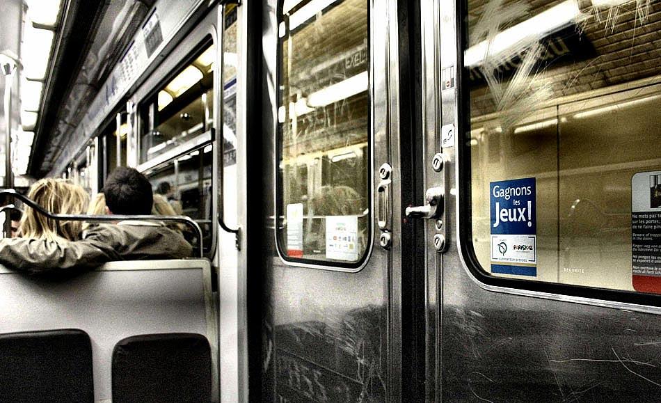 dans le métro IV