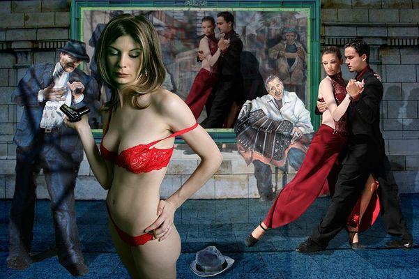Dans le Metro - son dernier Tango