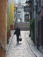 Dans le vieux Bruxelles