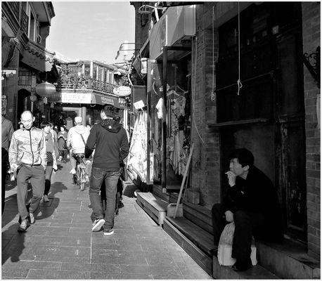 Dans le vieux Pékin