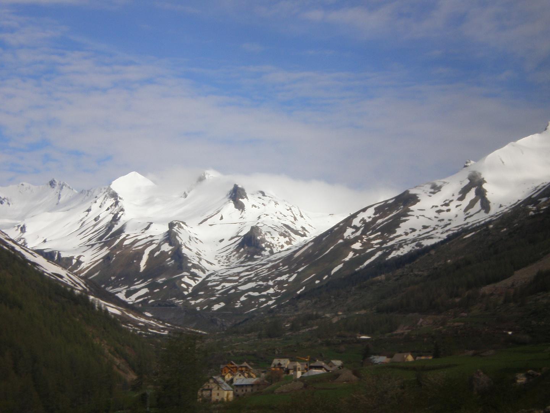 dans les Alpes...