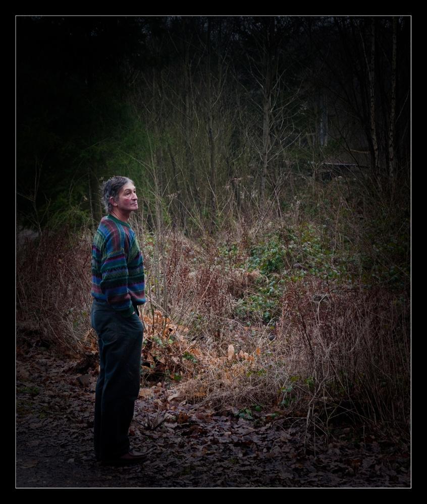Dans les bois avec Michel