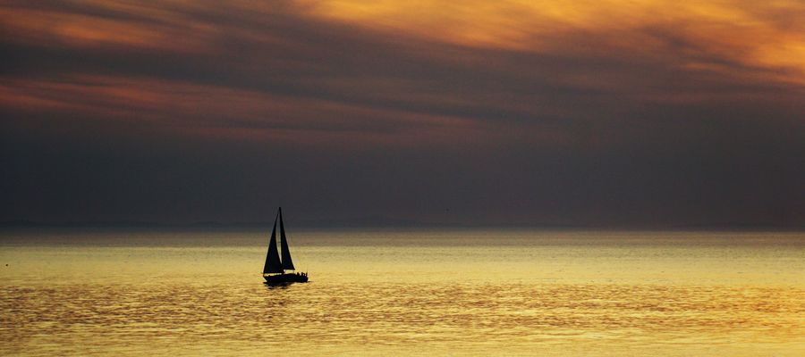 Dans les eaux de la mer.....