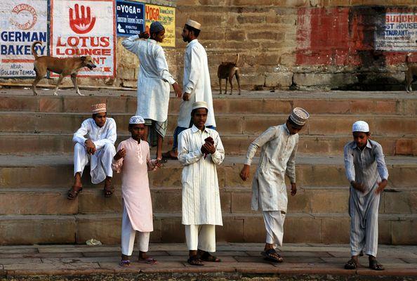 Dans les ghats de Varanasi -1