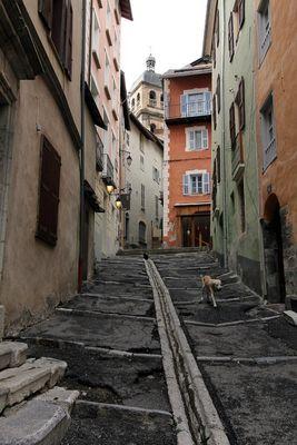 Dans les petites rues de Briançon