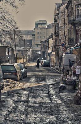 Dans les rues de Sofia