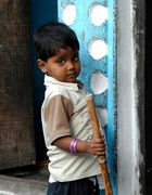 Dans les rues de Varanasi