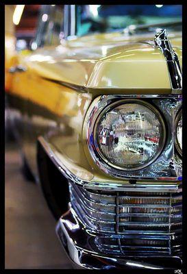 Dans l'oeil de la Cadillac