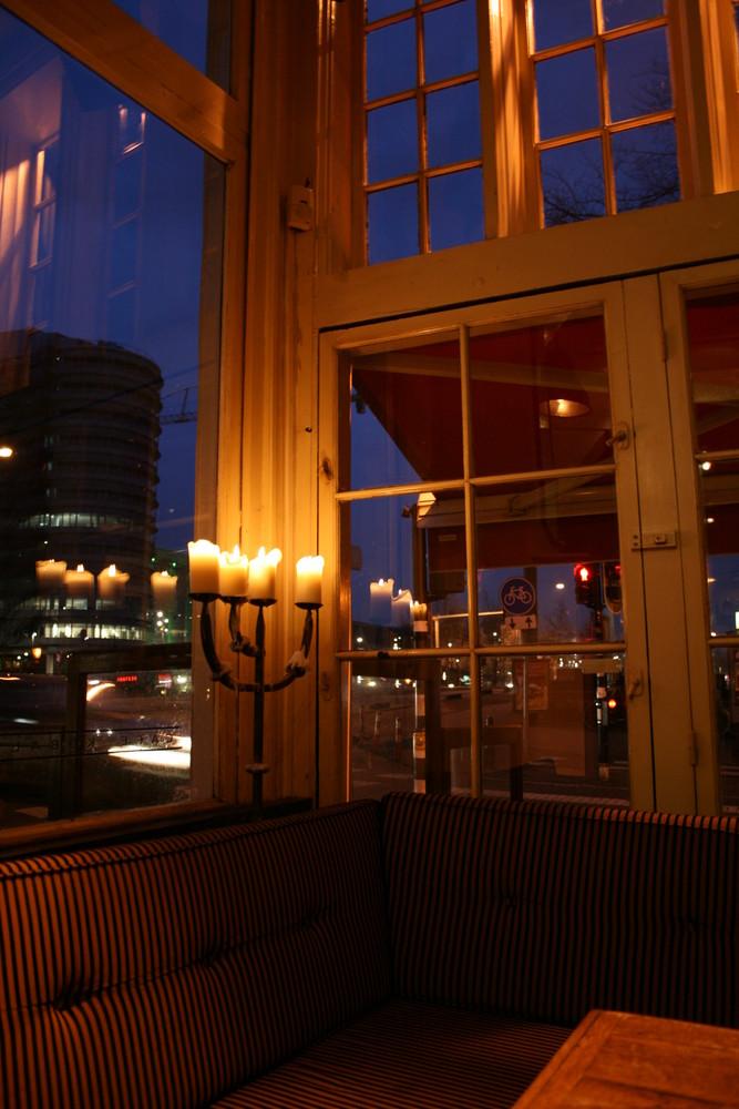 Dans un bar d'Amsterdam