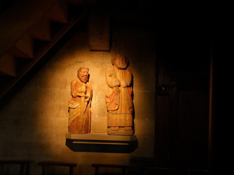 Dans une église près de Carhaix