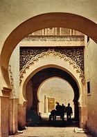 Dans Une Ville Marocaine