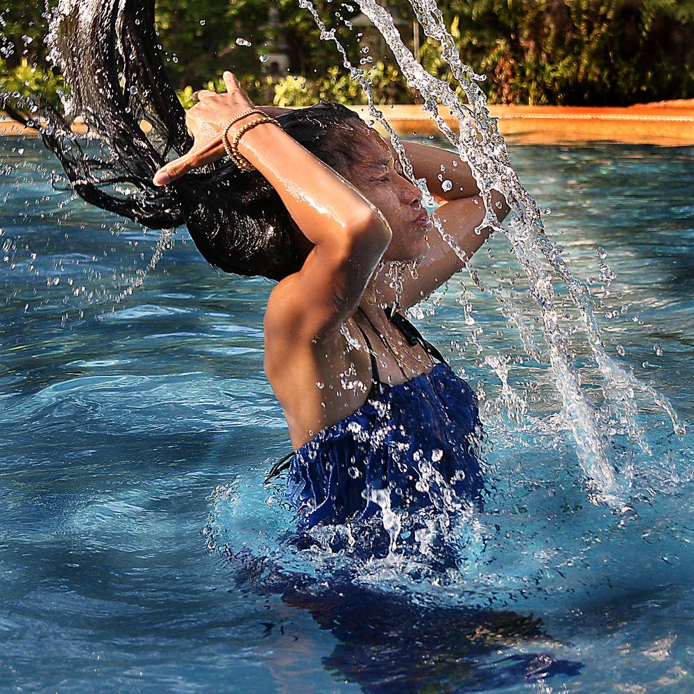 Danse avec l'eau