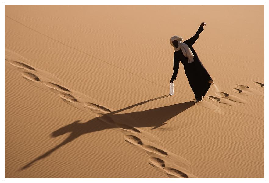 Danse dans les dunes.