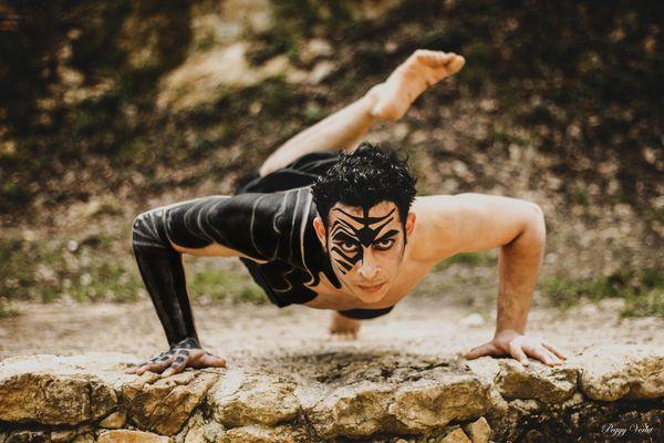 danse guerrière