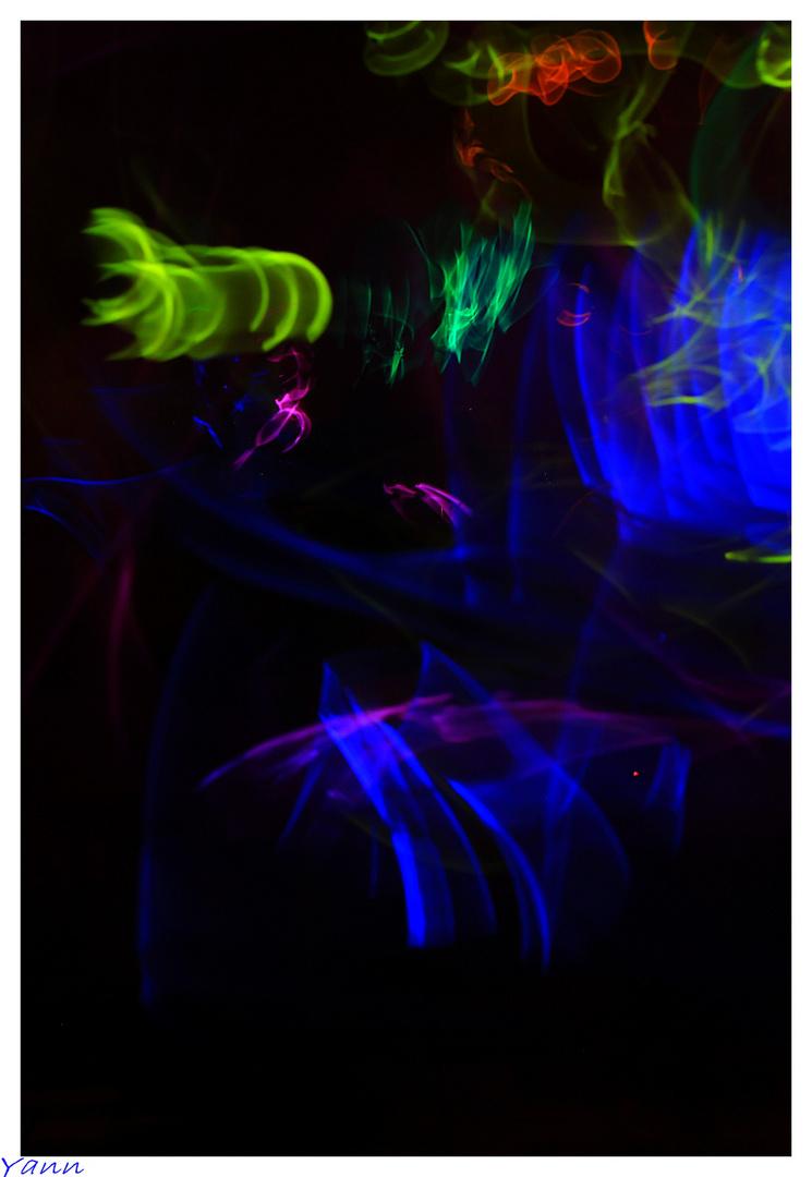 danse lumineuse...