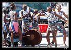 Danse sur le marché à Cap Town-Afrique du Sud