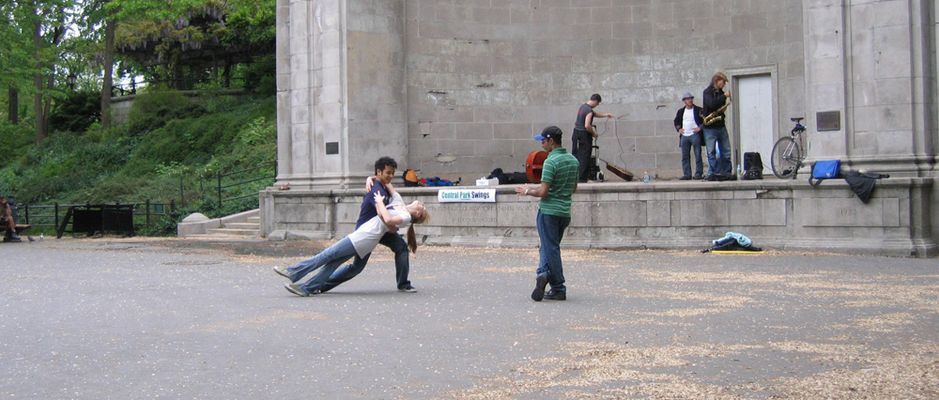 Danseurs à Central Park