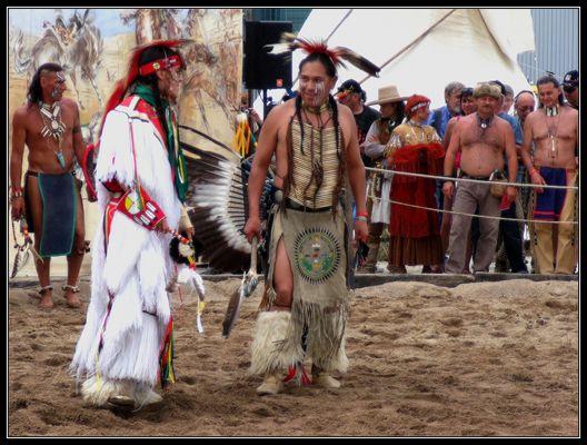 Danseurs Amérindiens