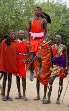 """danseurs Masaï"""
