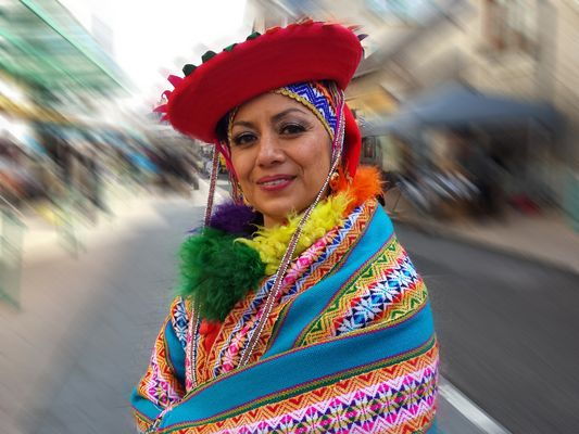 danseuse peruvienne