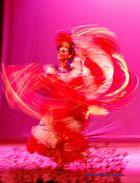 danza cortando aire