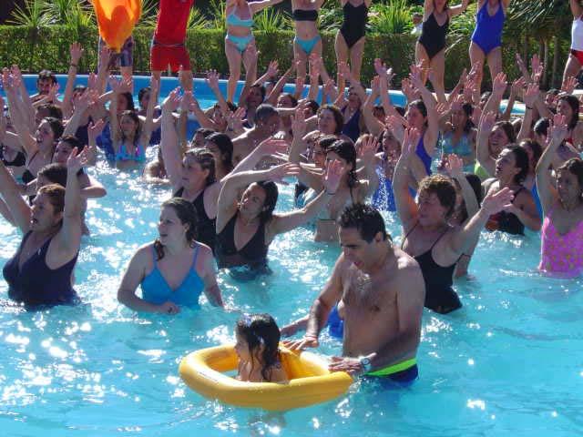 Danzando en el agua